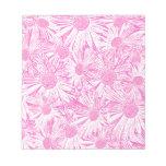 Pink Daisies Notepad