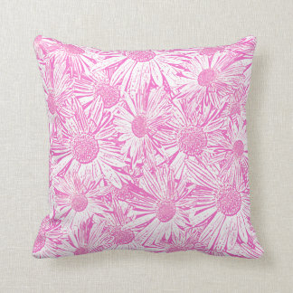 Pink Daisies Pillows