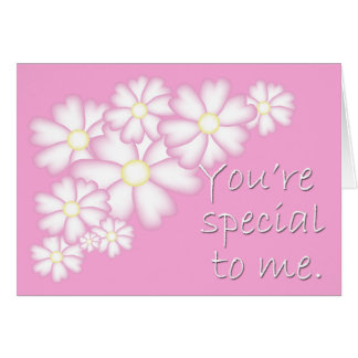 Pink Daisies Special Friendship Card
