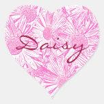 Pink Daisies Sticker