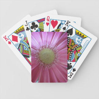 Pink Daisy Beauty Bicycle Playing Cards