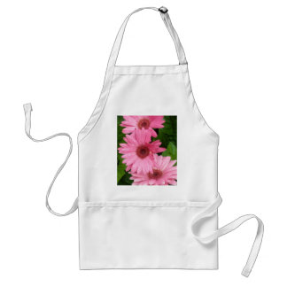 Pink Daisy Chain Adult Apron
