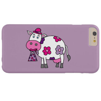 Pink Daisy Cow Barely There iPhone 6 Plus Case