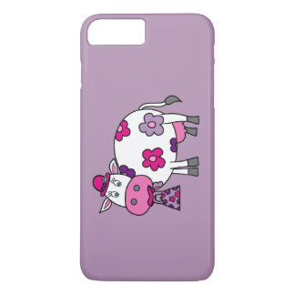Pink Daisy Cow iPhone 7 Plus Case