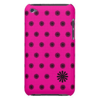 Pink Daisy Dot iPod Touch Cover