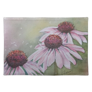 PINK DAISY FLOWER PLACEMAT