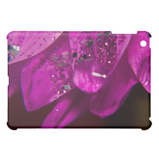 Pink Daisy Glittered iPad Case