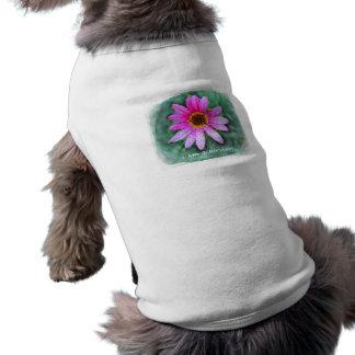 Pink Daisy I am a Survivor Dog Shirt
