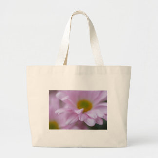 Pink Daisy Large Tote Bag