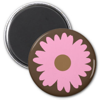 Pink Daisy Magnet