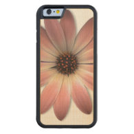 Pink daisy on Mink Leather Print Carved&#174; Maple iPhone 6 Bumper (<em>$61.00</em>)