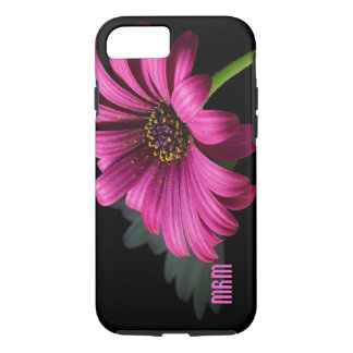 Pink Daisy Personalized iPhone 7 case