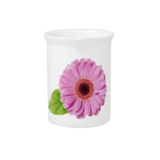Pink Daisy Pitcher