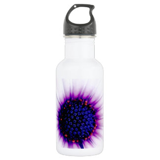 Pink Daisy Stainless Steel Water Bottle