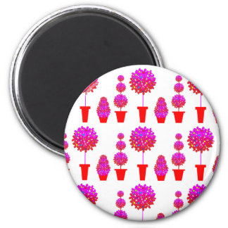 Pink Daisy Topiary Magnet