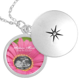 Pink Daisy Ultrasound Necklace