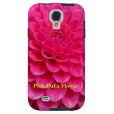 Pink Dalia Flower