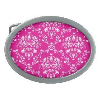 Pink Damask Buckle