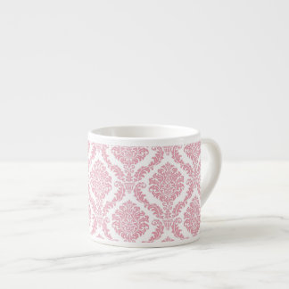 Pink Damask Espresso Mug