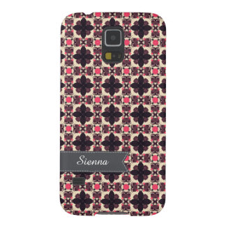 Pink damask galaxy s5 cases