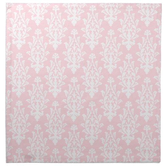 Pink Damask Napkins