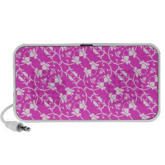 Pink Damask Pattern Speaker
