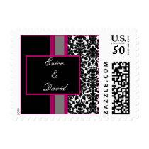pink damask stamps