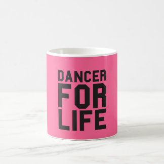 Pink Dancer for Life Coffee Mug