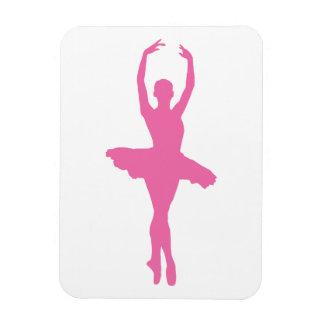 Pink Dancing Ballerina Magnet