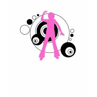 Pink Dancing Girl shirt zazzle_shirt