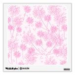 Pink Dandelions Wall Decor