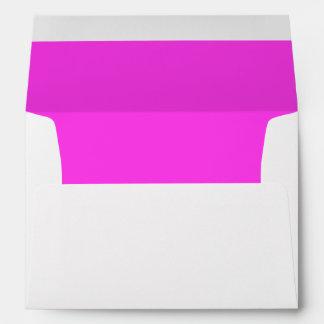 Pink Dark Invitation Envelope