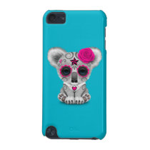 Pink Day of the Dead Sugar Skull Baby Koala iPod Touch 5G Cover