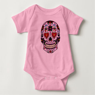 Pink Day of the Dead T-shirt