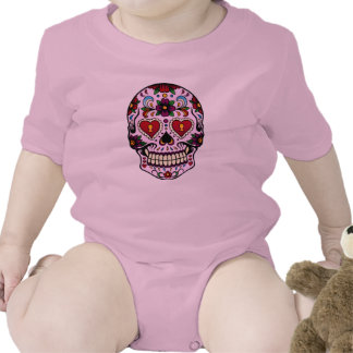 Pink Day of the Dead Tshirts