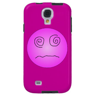 Pink Dazed and Confused Smiley Galaxy S4 Case