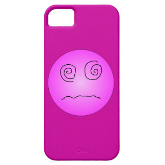 Pink Dazed and Confused Smiley iPhone SE/5/5s Case
