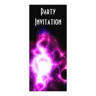 Pink Dazzle Party invitation