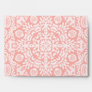 Pink Deco Lace Envelope