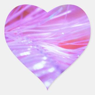 Pink decorations heart sticker