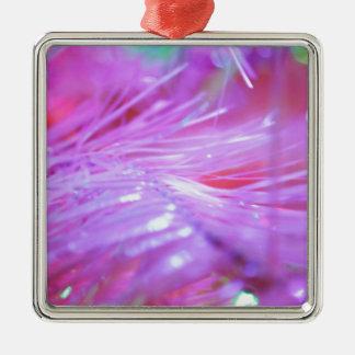 Pink decorations metal ornament