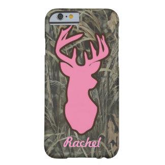 Pink Deer Head Camo iPhone 6 case