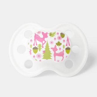 Pink Deer Pacifier