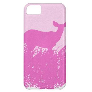 Pink Deer Silhouette iPhone 5C Cover