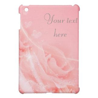 Pink Delicate Rose iPad Case