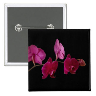 Pink Dendrobium Orchid - Customized Flowers Buttons