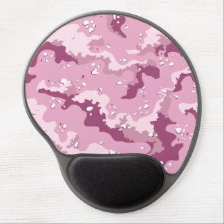 Pink Desert Camo Gel Computer Mousepad Gel Mouse Pad