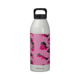 Pink Desert Camo Drinking Bottle