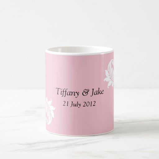 Pink Design Coffee Mug