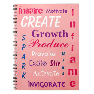 Pink Design Notebook